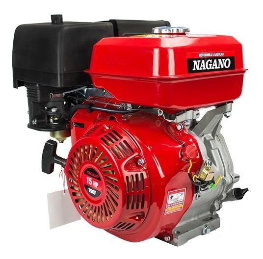 Motor À Gasolina 15 Hp 420 Cc Partida Manual - Nagano