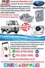 Bomba De Agua Automotriz Subaru Sambar Ks3,ks4 Guatemala