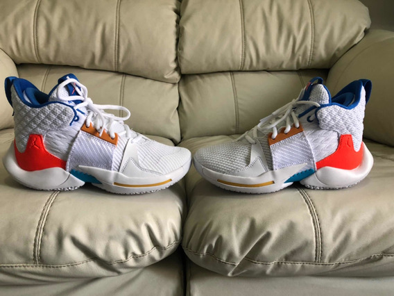 Tenis Nike Russel Westbrook 2 Okc Home Del 23.5mx Dama Niño