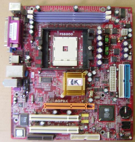 Placa Mãe Pcchips M871g Socket 754
