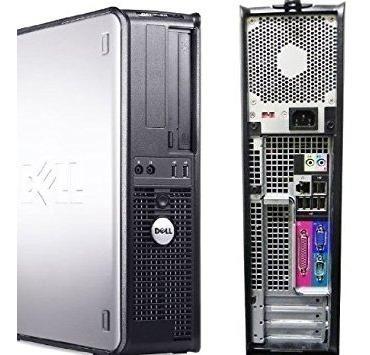 Cpu Dell 380 Core 2 Duo 4gb 500gb Wifi + Teclado E Mouse!