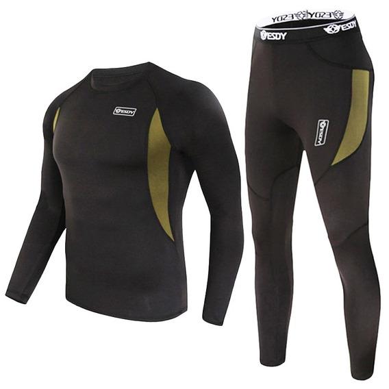 Pantalon Polo Calentador Unisex Quik Dry Térmico Frío Minero