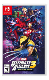 Marvel Ultimate Alliance 3 The Black Order Juego Switch Ppp