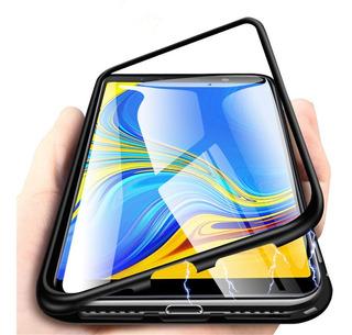 Funda Magnetica 360 Samsung A20 A30 Funda Y Vidrio Trasero