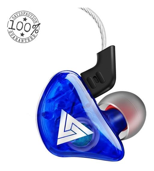 Fone In Ear Qkz - Monitor De Palco Profissional Kz