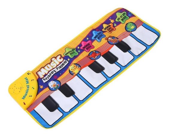 Tapete De Atividades Tatame Piano Musical Dobravel