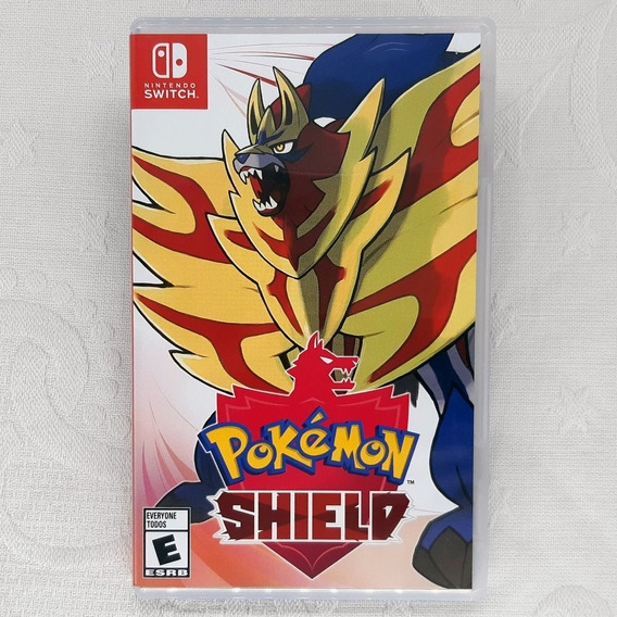 Pokemon Shield - Semi Novo - Fisica - Switch - Gamercado