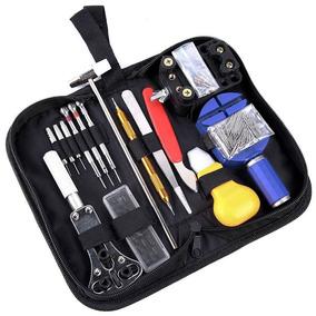 Portátil 147pcs Relógio Reparação Tools Estojo Com Transport