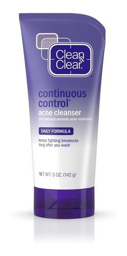 Limpiador Facial Control De Acné Continuo Clean & Clear
