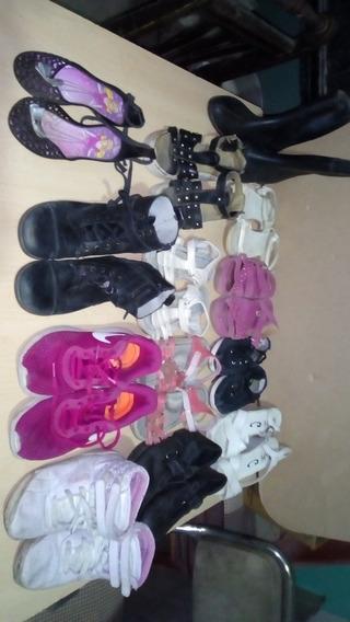 Lote De Zapatos Nena Talles Desde 31-37