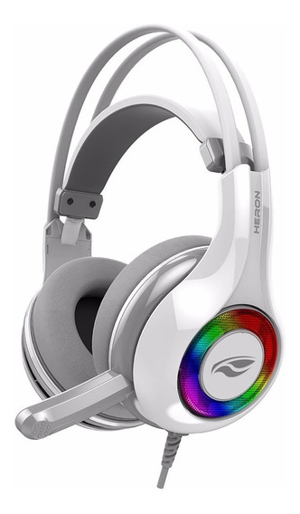 Fone Headphone Gamer C3tech Usb 7.1 Heron Ph G701 Wh