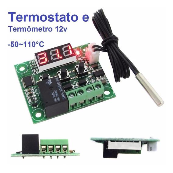 -ermostato Controle De Temperatura 12 V Xh W1209 Arduino Pic
