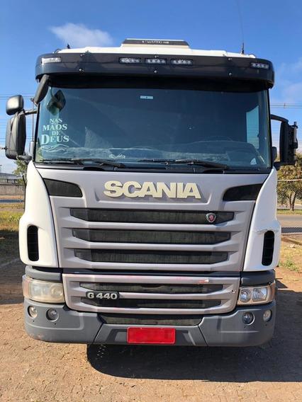 Scania G 440 - 6x2 - 2014 - Automática - Único Dono