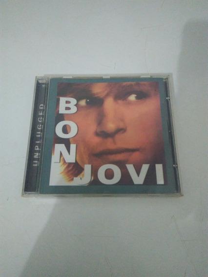 Cd Bon Jovi Unplugged Raro Importad Usado Em Perfeito Estado