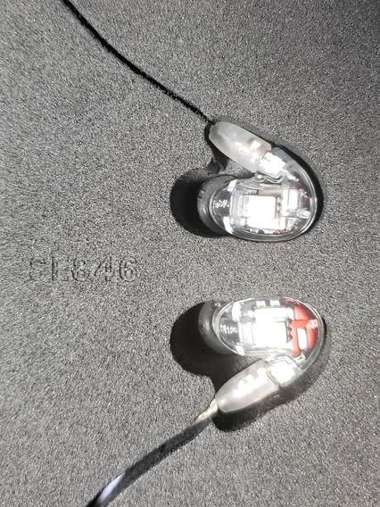 Fone Shure Se846cl-bt1 Completo
