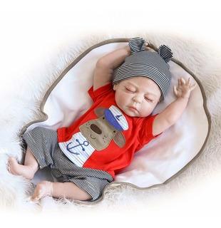Bebé Reborn Silicona Niño Muñeca Simulado 48cm Renace Rea