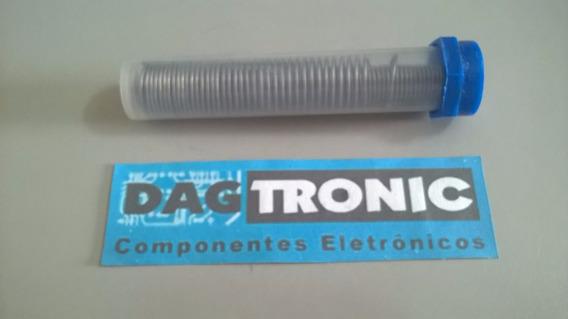 Tubinho De Solda Estanho Para Eletronica 0,5mm Fina 25grs