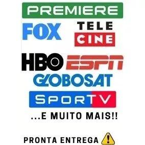 Promoçaol!!!!premiere Play,e Globo Sat E Muito Mais...1 Ano