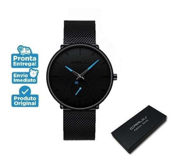 Relógio Crrju 2150 Na Caixa Unissex Masculino Feminino