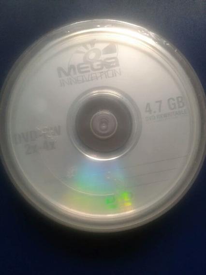 Cd Dvd Regrabables Torre De 10 En 10usd