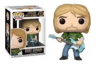 Funko Pop! Rocks Kurt Cobain # 65 Original Replay