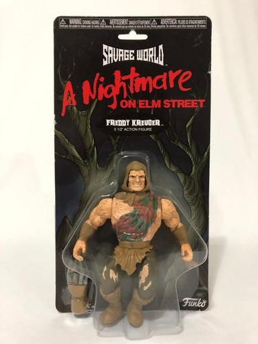 Funko Savage World Nightmare Freddy Krueger Action Figure