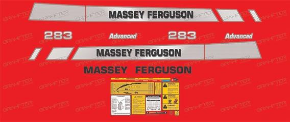 Adesivos Massey Ferguson 283 Advanced