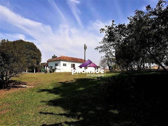 Chácara À Venda, 9000 M² Por R$ 4.000.000,00 - Jardim Rafael - Caçapava/sp - Ch0071