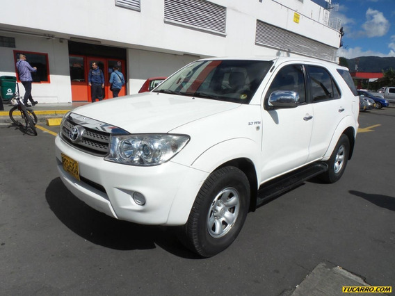 Toyota Fortuner Urbana At 2700cc 4x4