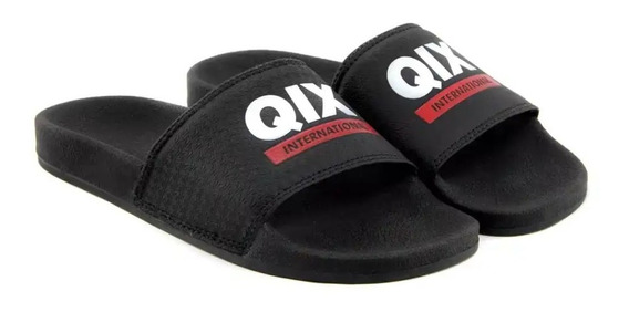 Chinelo Slide Logo Qix International