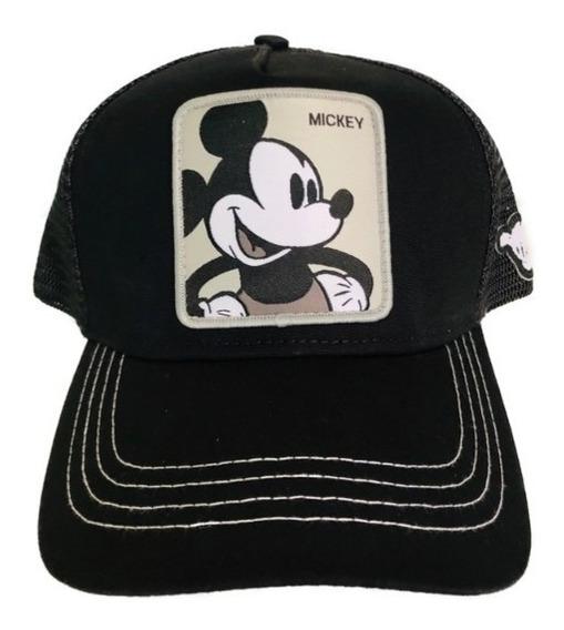 Gorra Goorin Bros Disney Mickey Negra Gris Unisex Collabs Or
