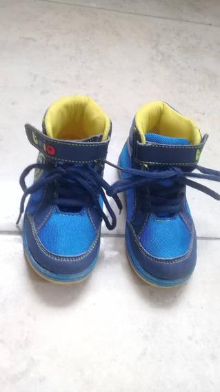 Zapatos Tipo Botin Para Niño Marca Trio Como Nuevos