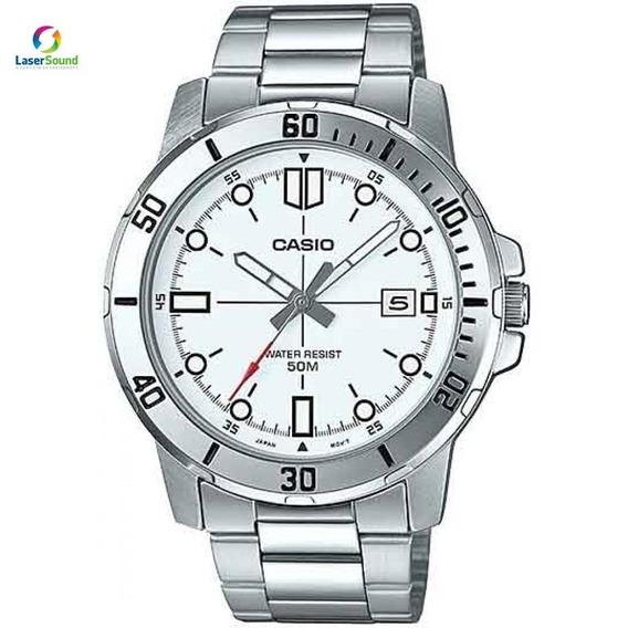 Relógio Casio Masculino Mtp-vd01d-7evudf C/ Garantia E Nf