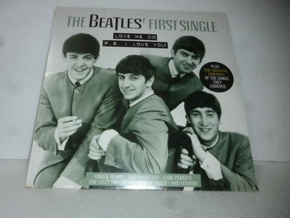 Lp Beatles First Singles 2013 Made In Eu Raro