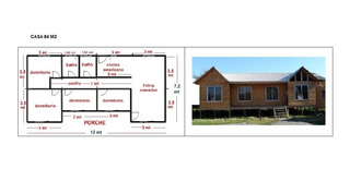 Casas Prefabricadas 84 M2.