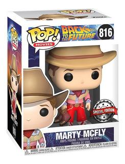 Funko Pop Marty Mcfly 816 Edicion Especial Back To The Futur