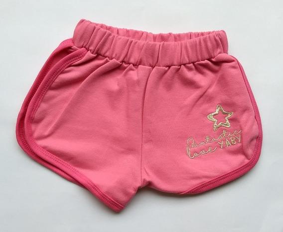 Short Nena Niña Pantalón Corto Algodón Color Diseño Calidad