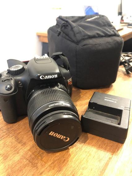 Vendo Ou Troco \ Câmera Canon Eos Rebel T2i E Lente Canon