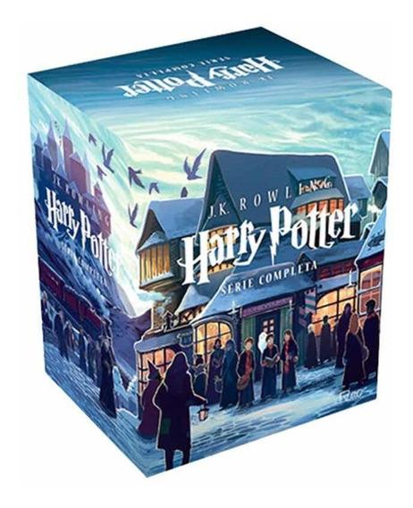 Box Harry Potter - Série Completa (7 Livros) - Novo
