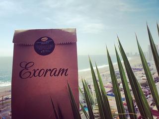 Exfoliante Corporal Exoram Base Cafe, Aceites Coco, Argan