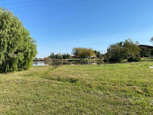 Lote En Solares De Carcaraña Oliveros - Fondo Al Lago / Ideal Fin De Semana