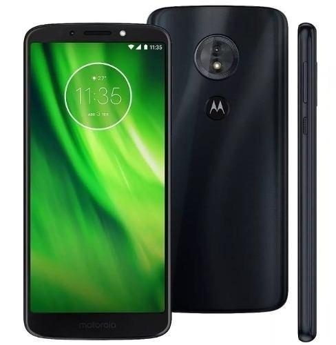 63bb0fd1c4 Smartphone Moto G6 Play Xt1922-2 32gb Deep Indigo + Fone - R$ 779,97 em Mercado  Livre