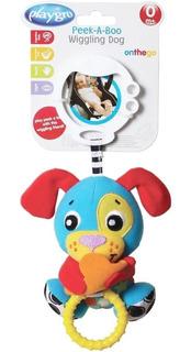 Peluche Colgante Peek-a-boo Wiggling Puppy Playgro 5471 Full