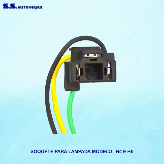 Soquete Lampada H4 H5 Original Conector Plug H4 H5