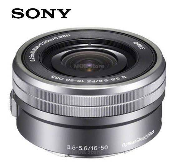 Lente Sony 16-50mm Prata F/3.5-5.6 Oss A6500 A6300 A5000