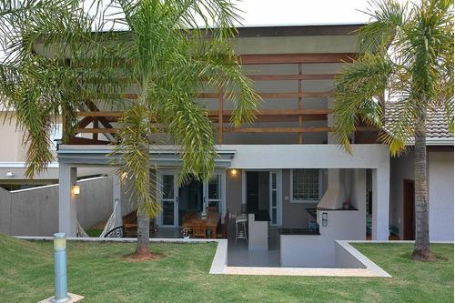 Casa Com 4 Dormitórios À Venda, 370 M² Por R$ 1.600.000,00 - Condomínio Terras De Vinhedo - Vinhedo/sp - Ca1848
