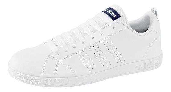 Tenis adidas Advantage Clean Hombre 160307 Blanco Originales