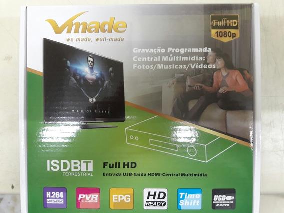 Conversor Digital Terrestre Tv Analógica Para Digital Vmade