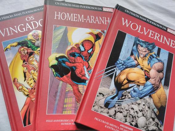 Salvat Heróis Mais Poderosos Da Marvel Vol 1 Ao 8