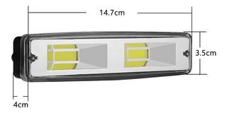 Par Neblinero Led Camioneta Motos De 6 Pulgadas Luz Blanca